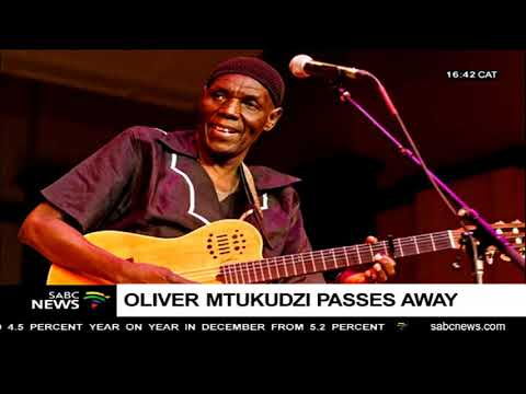 Reaction to the passing of Oliver Mtukudzi's: Peter Tladi