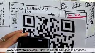 How To Create QR Codes For Videos and Improve Your Video Marketing(http://www.soldwithvideo.com/articles/how-qr-codes-can-drastically-improve-your-video-marketing/ - We recommend checking out our article on how to create ..., 2012-05-19T19:31:45.000Z)