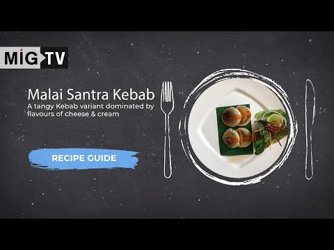 Malai Santra Kebab | Recipe Guide in English | Metropolitan Hotel, Delhi