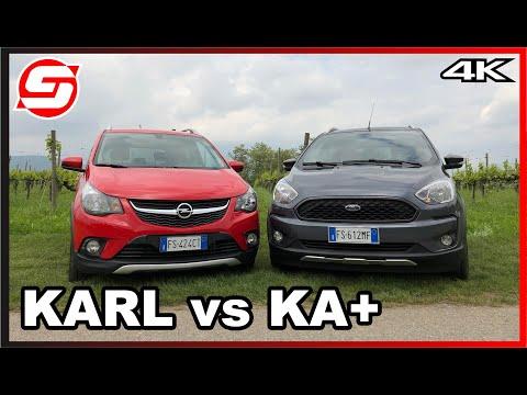 FORD KA+ Active VS OPEL KARL Rocks | Il CONFRONTO delle piccole crossover da città