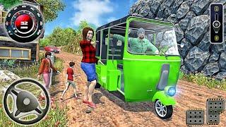 Offroad Tourist Tuk Tuk - Auto Rickshaw Racing Taxi - Best Android GamePlay @AK Hyper Gamer screenshot 3