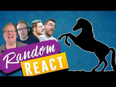 Ein KÖNIGLICHES Pferd 🎮 Random React