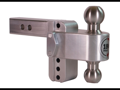 Weigh Safe 180 Adjustable Trailer Hitch Ball Mount from TruckProUSA
