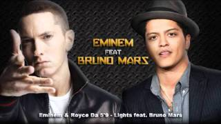 Watch Bruno Mars Lights video