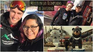 México en las Olimpiadas de Invierno en Corea - Pyeongchang 2018 ♥ #DTEC