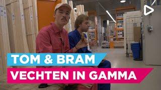 Bram en Tom vechten in de Gamma! - Club Ondersteboven aan het werk | SLAM!