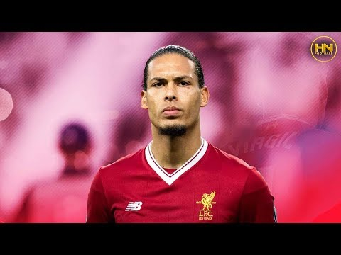 Virgil van Dijk - Liverpool & Netherlands - Defending & Passing - 2018 HD