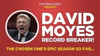 MOYES SACKED: His Manchester United records in full