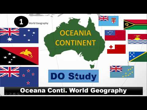 Oceania/Austraila Continent - World Geography (CHSL & UPSC Special Video)
