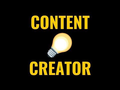 CONTENT CREATOR : Gagne ta vie grâce à ton contenu 💡