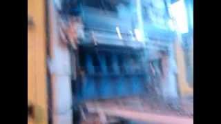 Вибропресс Универсал-4. Изготовление поребрика.(Работа поперечного очистителя при изготовлении поребрика., 2012-08-28T11:02:51.000Z)
