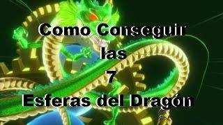 Como Conseguir las 7 esferas del Dragón - Dragon Ball Xenoverse - Deseos de Shenlong