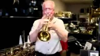 Jim Anderson playing our 1952 King Model 20 Trumpet (for sale!)