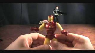 Marvel Legends Ironman and Maria Hill 2 pack review