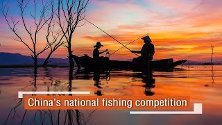 Live: China's national fishing competition 中国国家级钓鱼休闲比赛