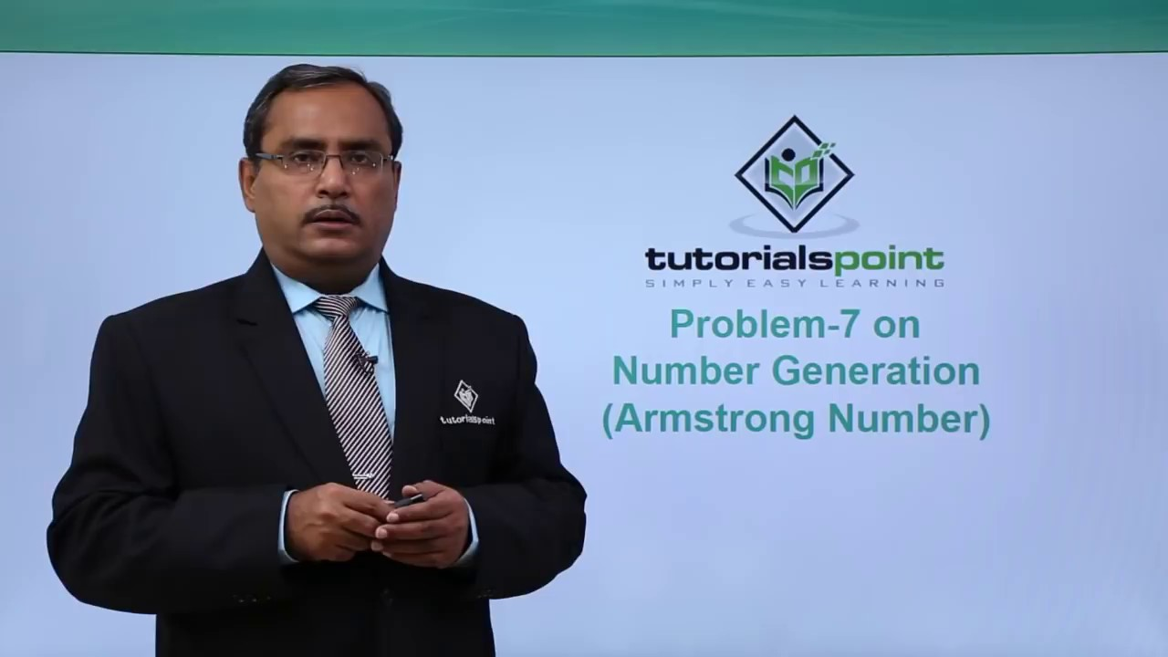 Finding armstrong numbers in c youtube finding armstrong numbers in c tutorials point baditri Choice Image