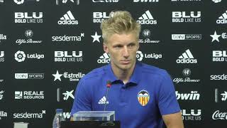 Daniel Wass Dice que es un Sueño Jugar en el Valencia CF