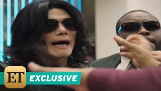 EXCLUSIVE: Michael Jackson and His Kids Get Mobbed at the Mall in
