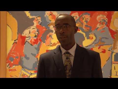 Icrict Commissioner Léonce Ndikumana NYC, September 2017