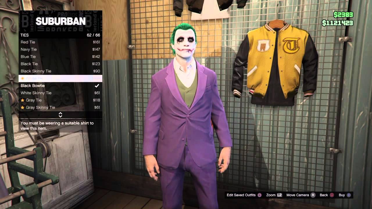 Joker Halloween Face Paint