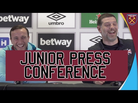 THE CRAZIEST PRESS CONFERENCE: NOBLE AND BILIC 😂