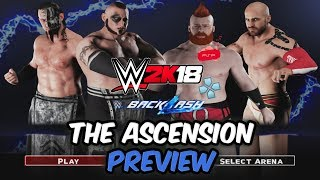 WWE 2K18 PSP, Android/PPSSPP - Tag Team Match ft. The Ascension
