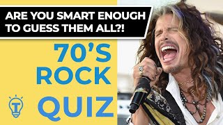 20 Trivia Questions - 70's Rock Music Quiz Ep.55 ❓🤔