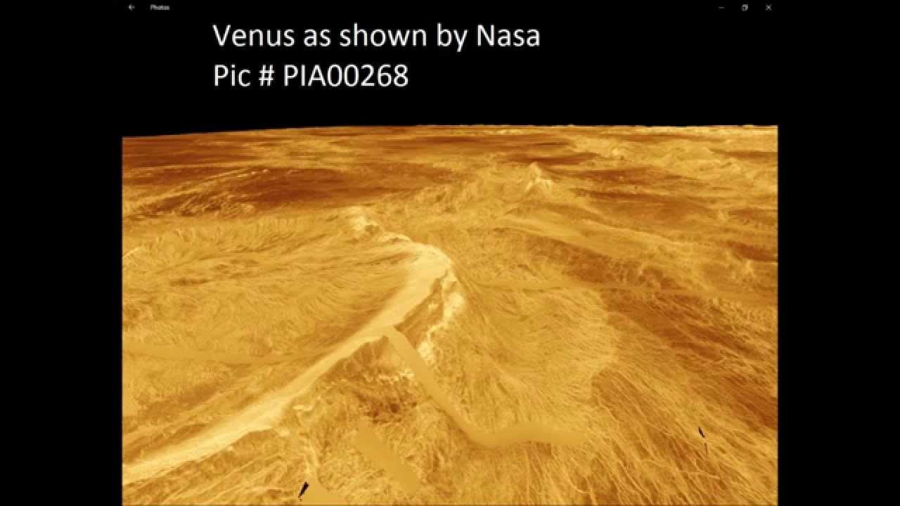 Nasa Proves Life On Venus Trees Buildings And Machines