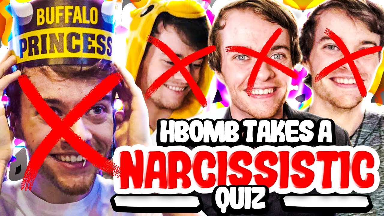 HBOMB TAKES A NARCISSISTIC TEST
