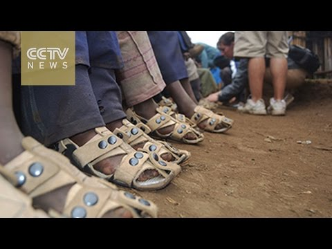 """The shoe that grows""—clever shoes that grow five sizes to help children in poverty"