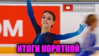 ИТОГИ КОРОТКОЙ ПРОГРАММЫ Женщины Кубок России 2020 в Сызрани Первый Этап