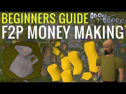 A Beginners MONEY MAKING Guide - F2P Old School RuneScape