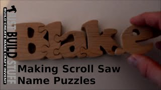 This is how I use Microsoft Word to make scroll saw name puzzle patterns. Show notes are available at http://justbuildstuff.com/how-i