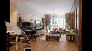 Thiết kế nội thất căn hộ chung cư Hòa Bình Green City