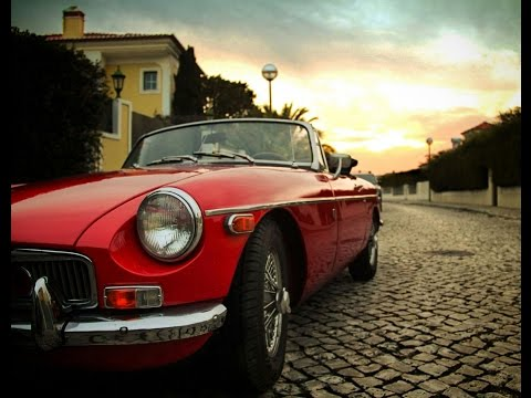 SECOND VIDEO: Riding in the coolest car ever! MGB