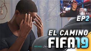 ALEX HUNTER LLORANDO?? EL CAMINO DE FIFA 19 *THE JOURNEY*