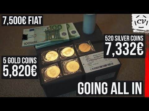 Selling All My Gold U0026 Silver To Buy Bitcoin (Going All In)