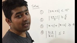 Modulus function (Absolute Value function) problems in Hindi - Part 2 Video