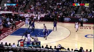 Crazy dunk party in Los Angeles Eric Bladsoe Blake Griffin vs Sacramento King highlights 04.07.2012 streaming