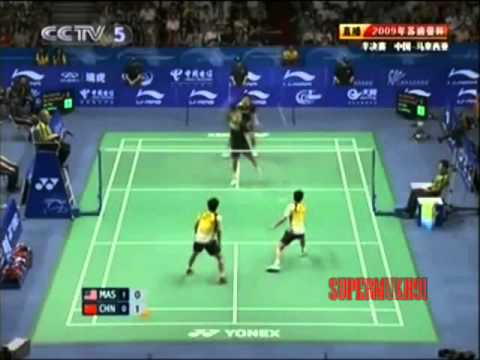 Koo Kien Kiat Amazing Badminton  Show