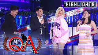 Vice and Vhong suggest a name for Anne's baby | It's Showtime Mr. Q and A