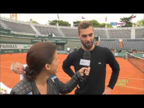 La pétanque, le secret de Benoit Paire - Roland Garros 2014