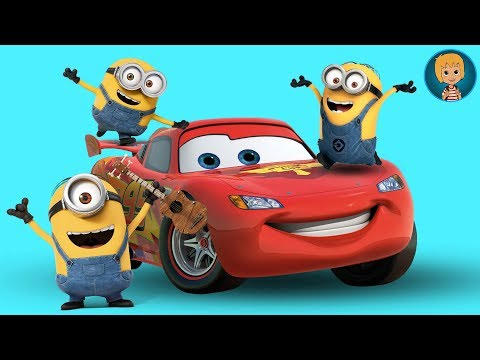 MINIONS Movie Dino Ride Paseo En Dinosaurios - Minions VS Lightning McQueen Cars 3 LEGO Juniors