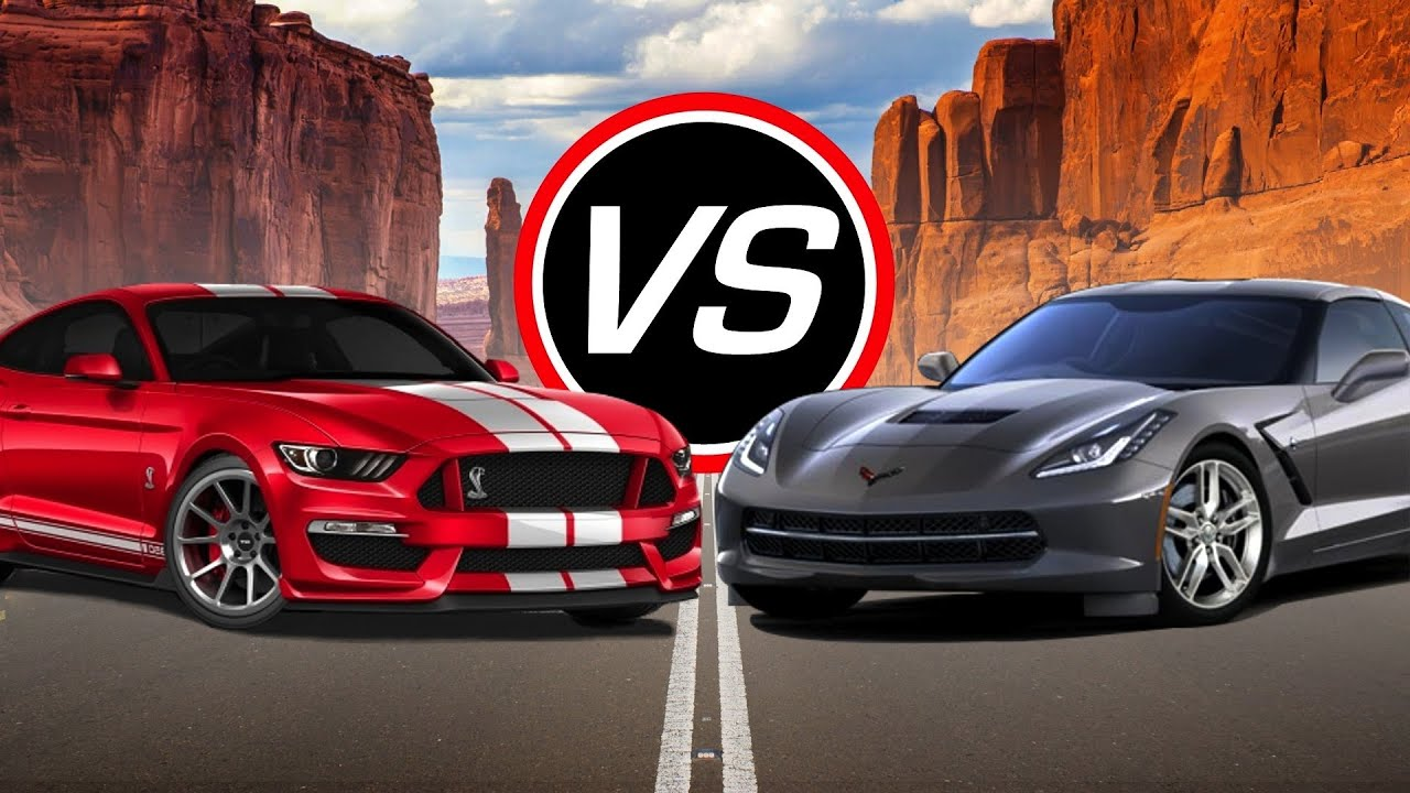2016 Ford Mustang Shelby Gt350 Vs Chevy