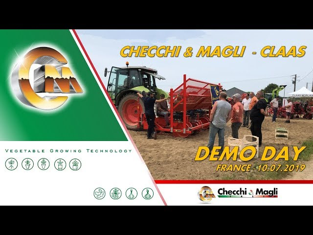 DEMO DAY CHECCHI & MAGLI - CLAAS (FRANCE)
