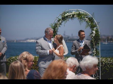 Henry Wedding August 12, 2017 in Centennial Park, Coronado, California