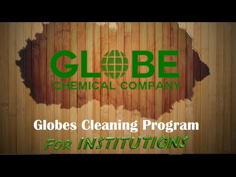 Globe's Cleaning Program for Institutions 2016
