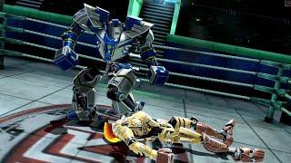 REAL STEEL WRB Fraust VS Atom & No Joke & Hollowjack & Blockbuster