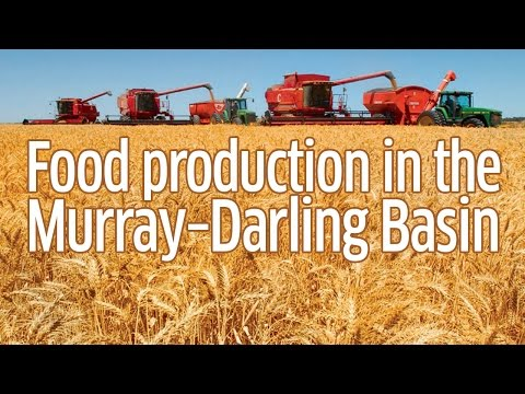 Food Production in the Murray–Darling Basin