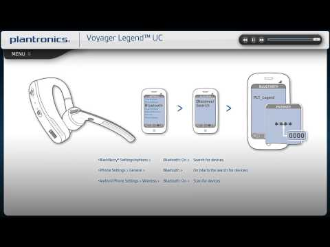 Voyager Legend Uc Video Setup Guide Youtube